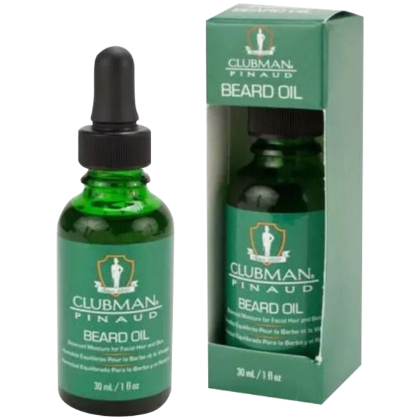 Pinaud Clubman Beard Oil 30ml. - Barbersupplies & Co