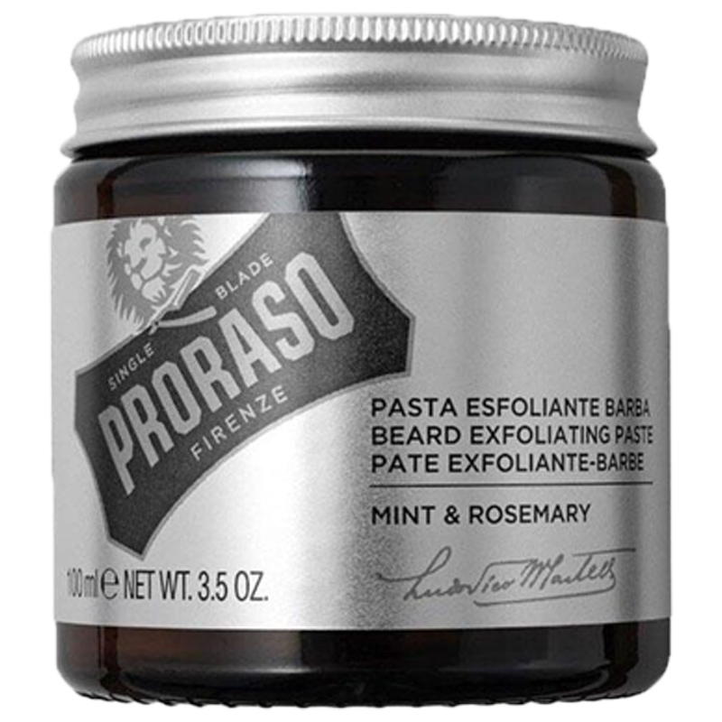 Proraso Beard Exfoliating Paste Mint&Rosemary 100ml. - Barbersupplies & Co