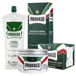 Proraso Shaving Soap and Set prebarba 300 ml Professional 500 ml in Bladder - Barbersupplies & Co