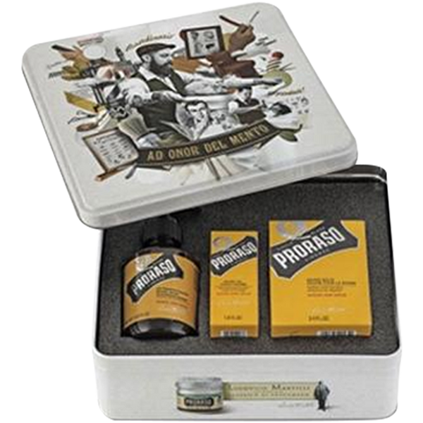 Proraso Single Blade Beard Gift Set - Barbersupplies & Co