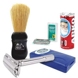 Quality Shaving Set For Beginners - Barbersupplies & Co