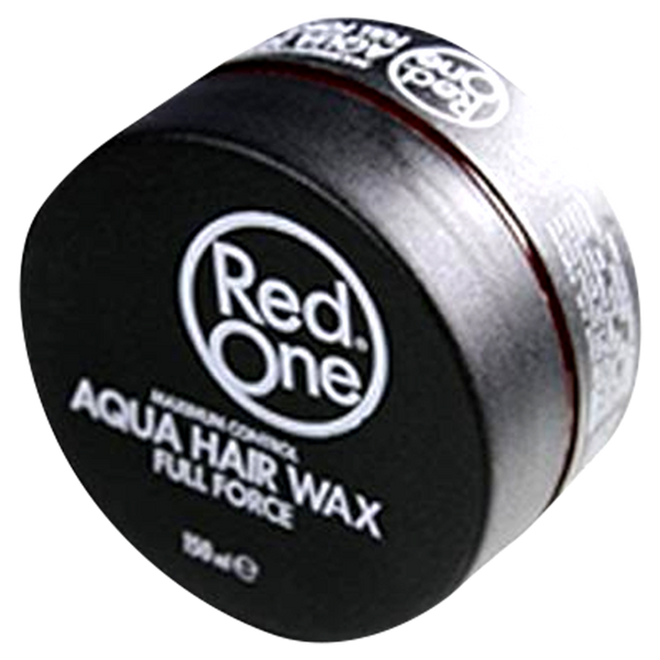 Red One Black Aqua Hair Gel Wax Full Force - Barbersupplies & Co