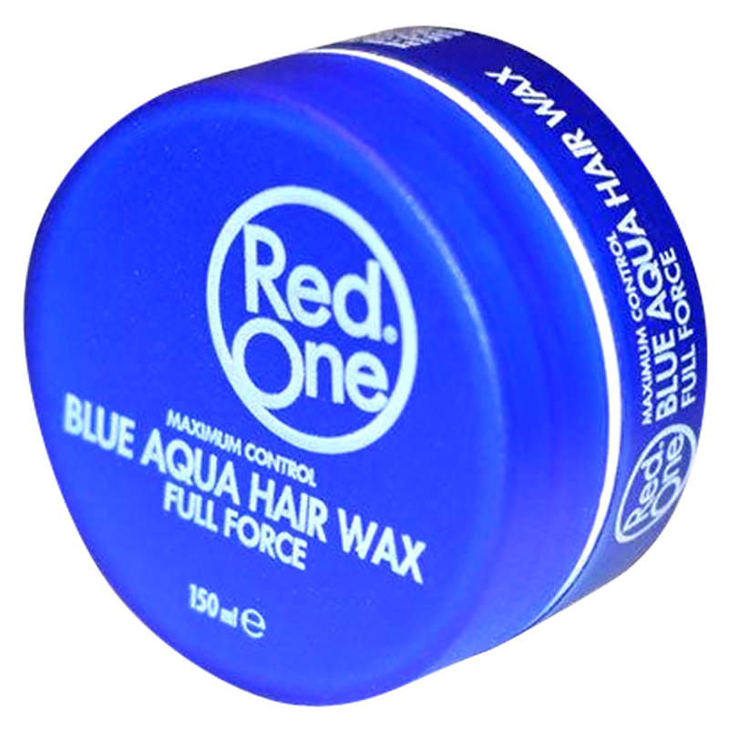 Red One Blue Aqua Hair Gel Wax Full Force - Barbersupplies & Co