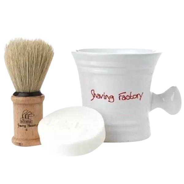 Shaving Factory Shaving Kit - Barbersupplies & Co