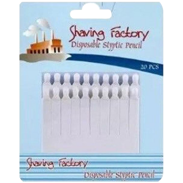 Shaving Factory Styptic Pencils  20pcs - Barbersupplies & Co