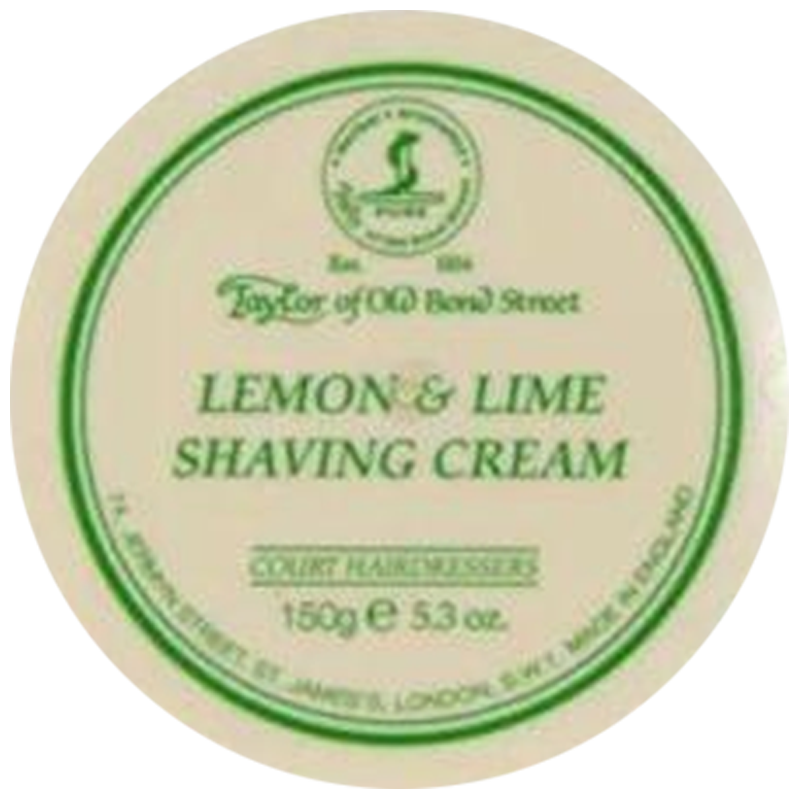 Taylor of Old Bond Street (TOBS) Lemon & Lime Shaving Cream Bowl 150g - Barbersupplies & Co