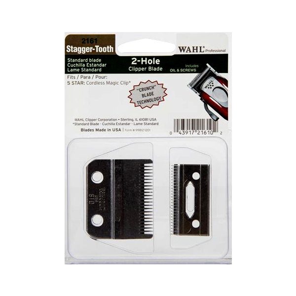 WAHL CRUNCH STAGGER-TOOTH BLADE SET WA2161-400 FOR CORDLESS MAGIC