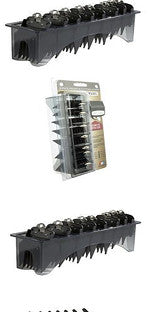 Wahl Premium Metal Cutting Attachment Comb Caddy Set - Barbersupplies & Co