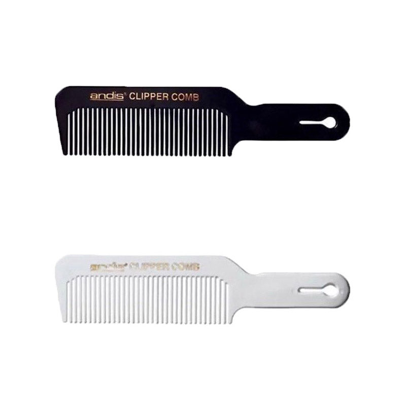 Andis Clipper Comb available in White or Black - Barbersupplies & Co