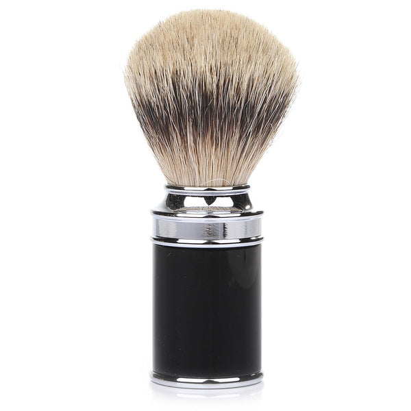 Muhle Silvertip Badger Hair Shaving Brush - Black Resin