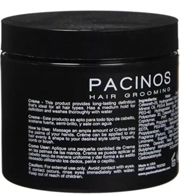 Pacinos Signature Line Hair Grooming Sculpting Wax Creme 118 ml - Barbersupplies & Co