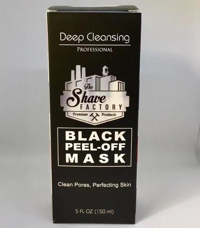 The Shave Factory Deep Cleansing Black Peel - Off Mask 150ml - Barbersupplies & Co