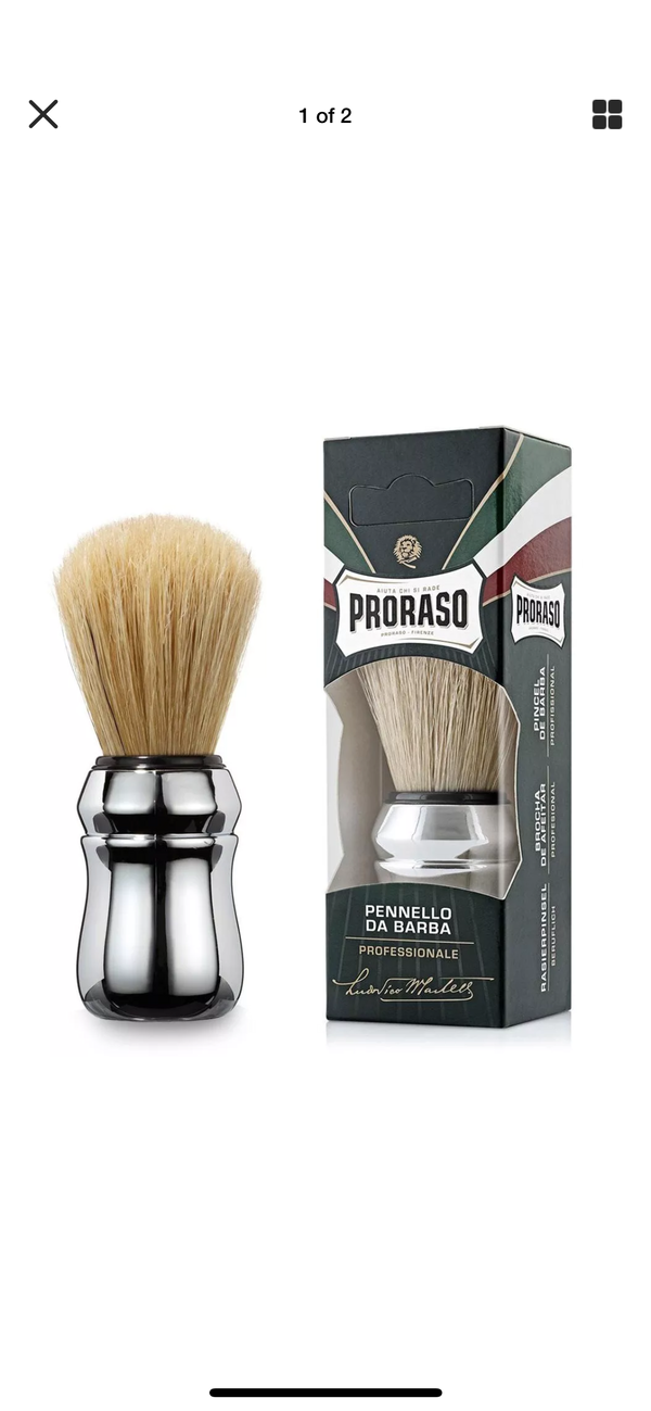 PRORASO Eucalyptus Shaving Set - Barbersupplies & Co