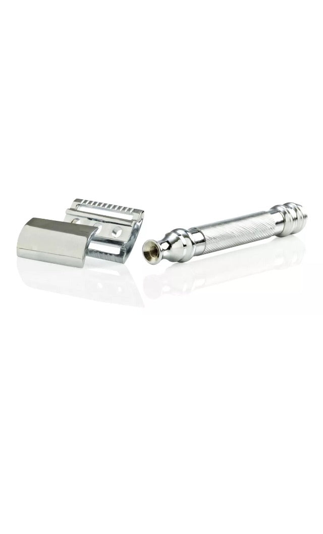 Parker 98R Chrome Plated Safety Razor - Barbersupplies & Co