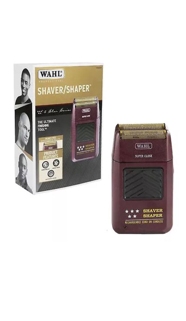 Wahl Professional 5 Star Cord/Cordless Rechargeable Shaver/Shaper - Barbersupplies & Co