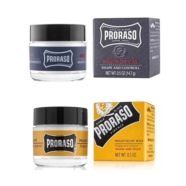Proraso Moustache Wax 15ml - Barbersupplies & Co