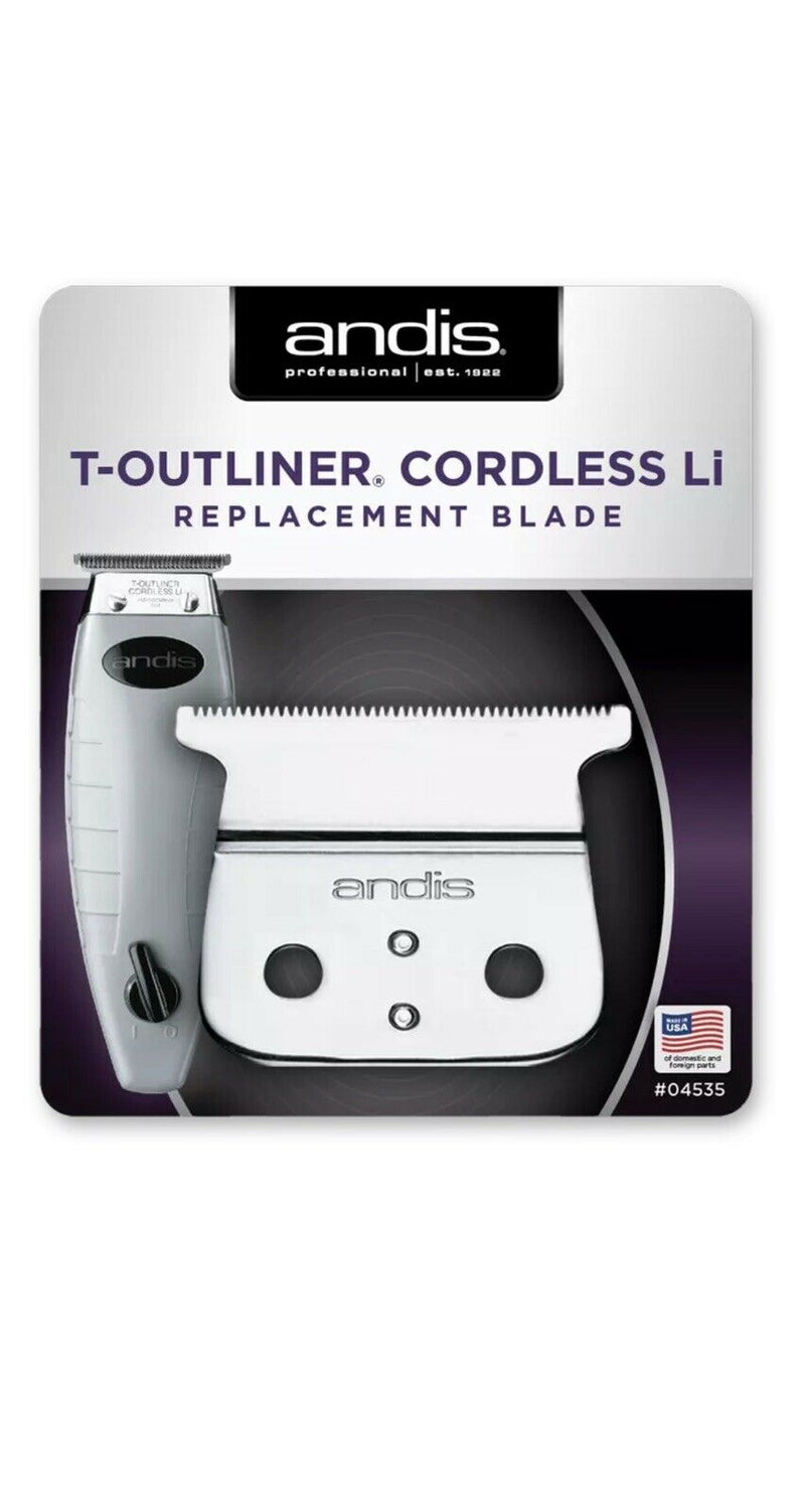 Andis T-OUTLINER Cordless Li Replacement Blade Set | #04535