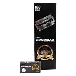 EUROMAX Platinum Double Edge Safety Razor Blades 100pcs