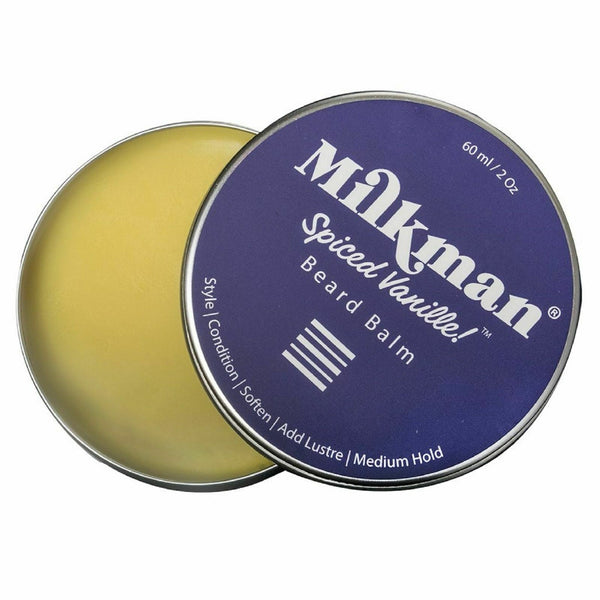 MILKMAN | Beard Balm | Spiced Vanille | Men's Grooming Products