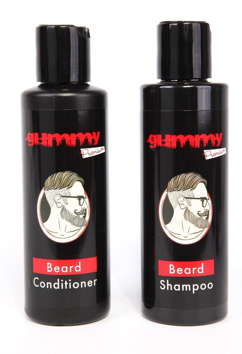 GUMMY PREMIUM BEARD SHAMPOO & CONDITIONER SET