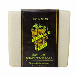 Modern Pirate | Bayrum Shave Soap | Mens Shower & Face Soap