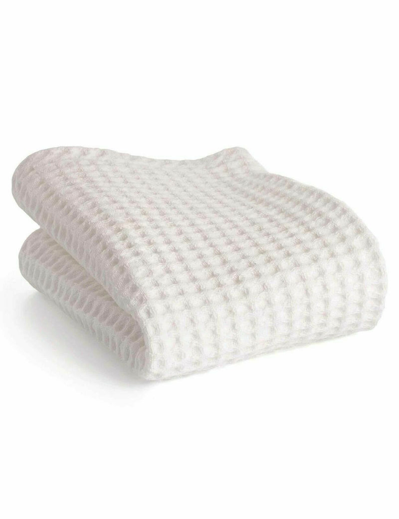 Muhle Barber Towels Pack Of 2 Waffle Pique Pure Cotton