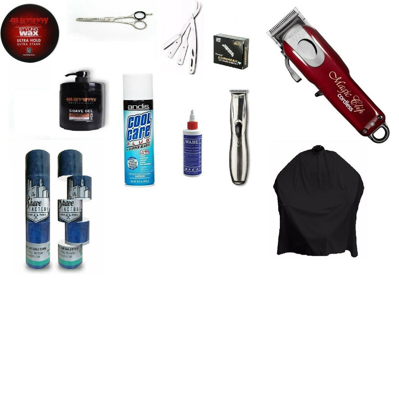Barbers & Hairdressers | Start Up Tool Kit Set | Melb Stock