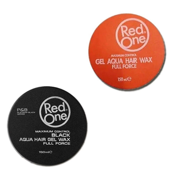 2 X Red One Full Force Hair Wax/BlackOne & OrangeOne - Barbersupplies & Co