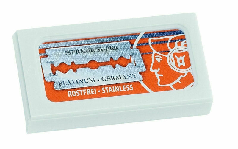 Merkur Dovo Solingen | Double Edge Razor Blades | Premium Safety DE | 10 Count