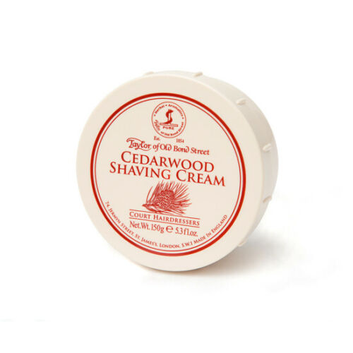 Taylor of Old Bond Street | Cedarwood Shaving Cream Bowl 150ml