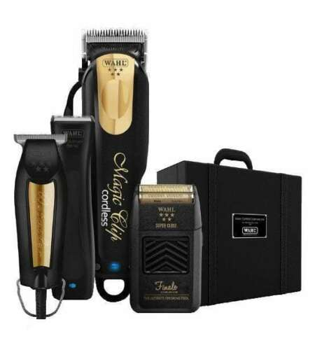 Wahl Professional Black & Gold Ultimate Barber Case