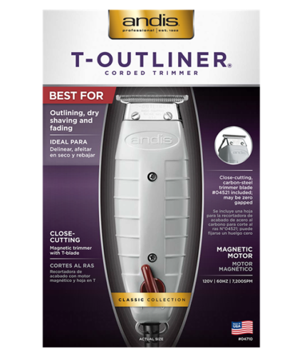 ANDIS T-OUTLINER T-BLADE TRIMMER