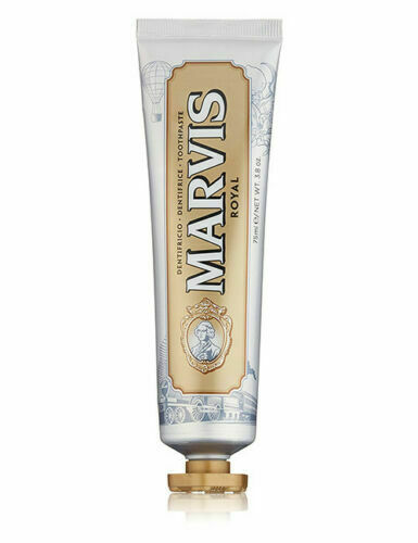Marvis Luxurious Italian | Royal Mint Toothpaste Refreshing 75ml Tube |Oral Care