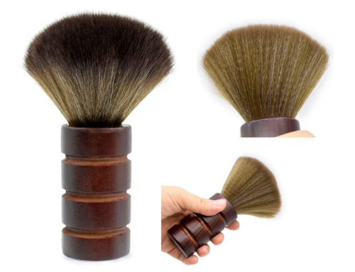 Hairdresser Salon or Barber Shop Neck Brush | Brown