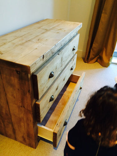Airedale Reclaimed Timber Chest of Drawers - Brogan & French