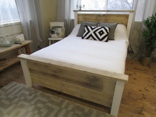 Airedale Contemporary Reclaimed Timber Bed - Brogan & French