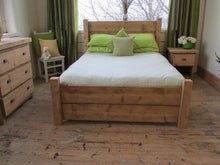 Airedale - Plank Reclaimed Timber Bed - Brogan & French