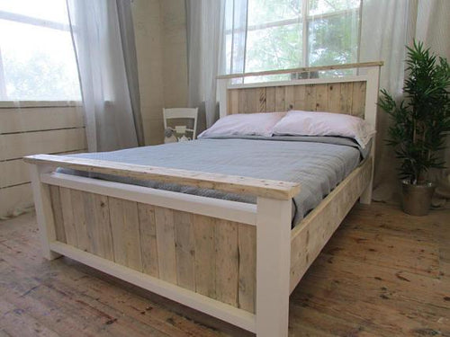 Airedale -  Deluxe Bed In Reclaimed Timber - Brogan & French