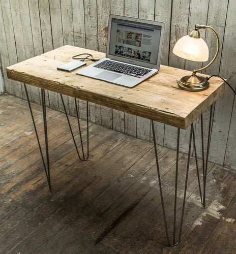 Denby Dale Chunky Reclaimed Timber Desk or Console Table - Brogan & French