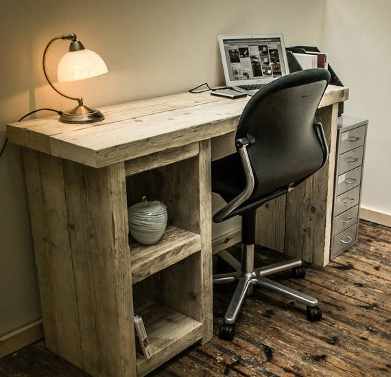 timber office desk. Reclaimed Timber Desk Solid Home Office Brogan \u0026 French UK Www.broganandfrench