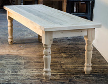 Nidderdale - Solid pine Traditional Farmhouse Dining Table any size 4ft 5ft 6ft 7 ft 8ft - Brogan & French