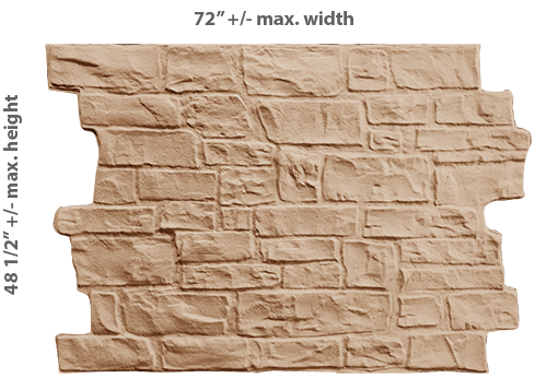 PAS003 - Very Cut Stone (Paintable Only)