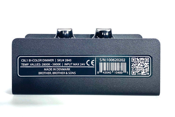 CBL1 Bi Color Kit (Dimmer/Dtap/PSU)
