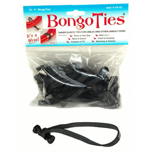 Bongo Ties Red - 10 Pack