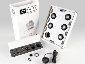 K7 Twist Black Housing 4000K (6pcs)
