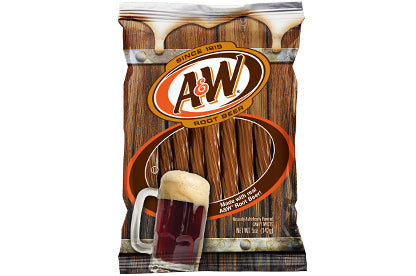 A&W Root Beer - Licorice Twists 142g
