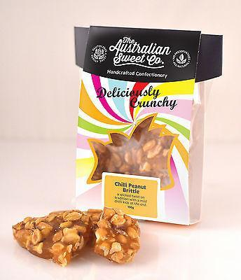The Australian Sweet Co. Chilli Peanut Brittle 150g