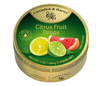 Cavendish & Harvey - Citrus Fruit Drops 200g