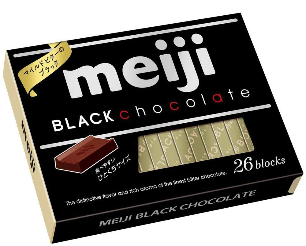 Meiji - Black Chocolate 120g