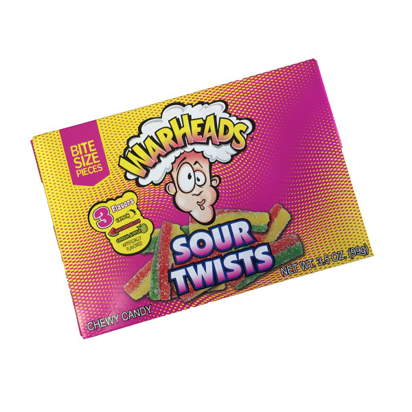 Warheads - Sour Twists 99g